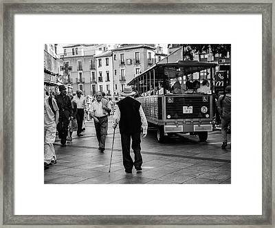 Toledo Man - Spain Framed Print by Madeline Ellis