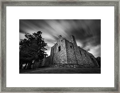 Tolquhon Castle Framed Print by Dave Bowman