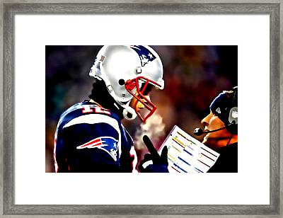 Go For The Big One Framed Print by Brian Reaves