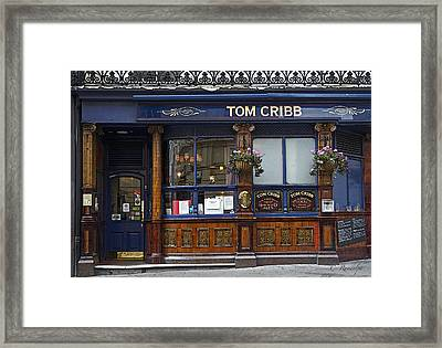 Tom Cribb Pub Framed Print by Cheri Randolph