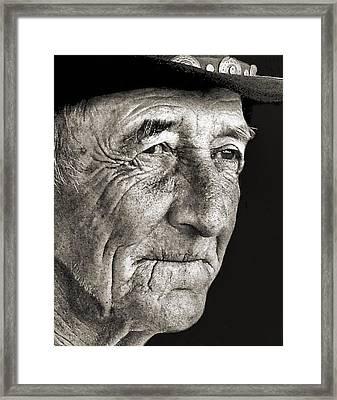 Tom Mccorkel Framed Print by Julie Dant