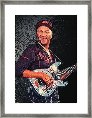 Tom Morello Framed Print by Taylan Soyturk