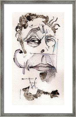 Tom Waits As Tom Waits Framed Print by Mark M  Mellon