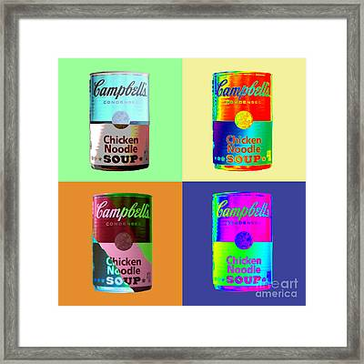 Tomato Soup Framed Print by Terry Weaver