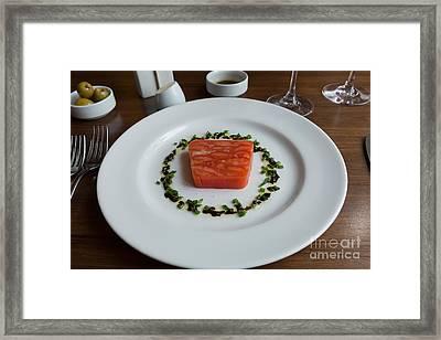 Tomato Terrine Framed Print by Louise Heusinkveld