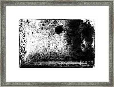 Tomb Of The Dammed Framed Print by John Rizzuto