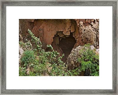Tonto Natural Bridge State Park Framed Print by Christine Till