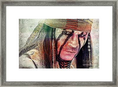 Tonto Painting Framed Print by Marvin Blaine