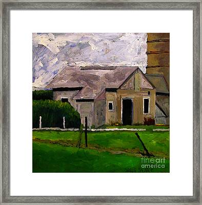 Tool Shed Spring Cleaning Framed Print by Charlie Spear