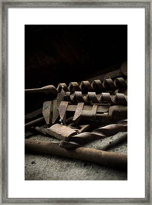 Tools Framed Print by Jessica Berlin