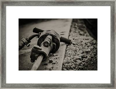 Tools Of The Trade Framed Print by Edward Khutoretskiy