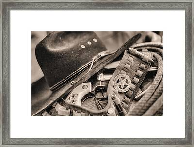 Tools Of The Trade  Framed Print by JC Findley