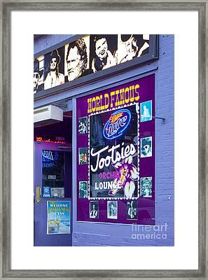 Tootsies Nashville Framed Print by Brian Jannsen