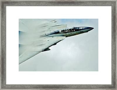 Top Gun Framed Print by Benjamin Yeager
