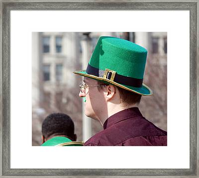 Top Hat Framed Print by Wild Thing