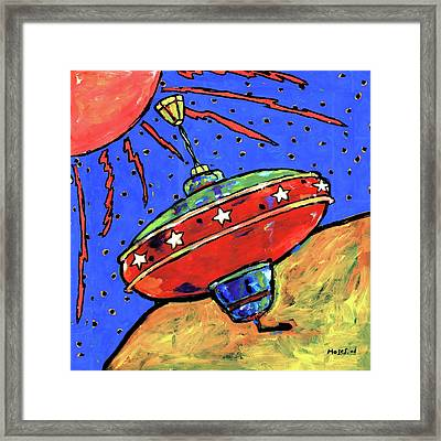 Top In Space Framed Print by Dale Moses