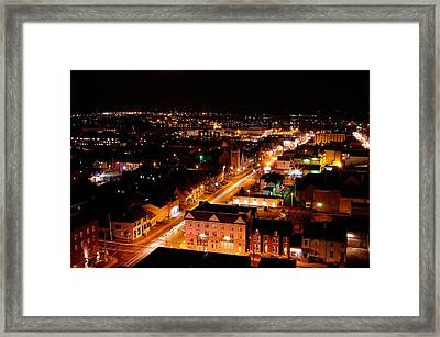 Top Of Kingston Series 003 Framed Print by Paul Wash