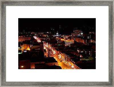 Top Of Kingston Series 004 Framed Print by Paul Wash