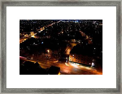 Top Of Kingston Series 005 Framed Print by Paul Wash