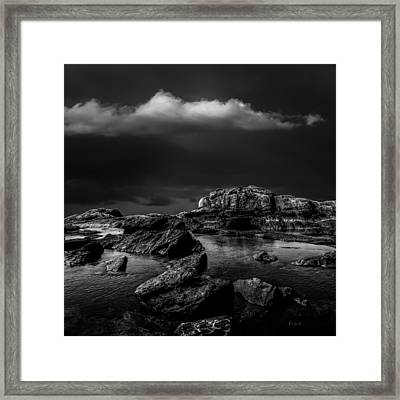 Top Of The Falls Framed Print by Bob Orsillo