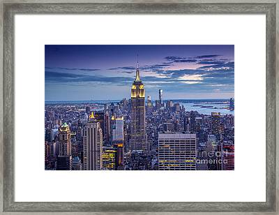Top Of The World Framed Print by Marco Crupi
