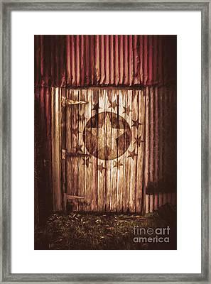 Top Secret Army Bunker Framed Print by Jorgo Photography - Wall Art Gallery