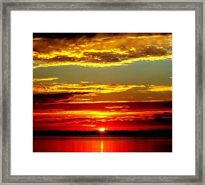 Topsail Island Framed Print by Karen Wiles