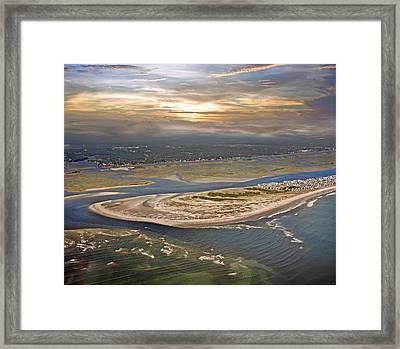 Topsail Island Paradise Framed Print by Betsy C Knapp