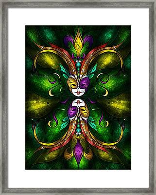 Topsy Turvy Framed Print by Mandie Manzano
