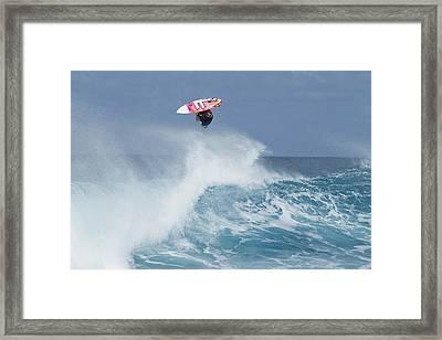 Topsy Turvy Framed Print by Sean Davey