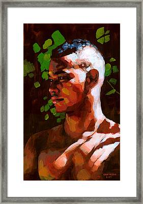 Torano In The Afternoon Framed Print by Douglas Simonson