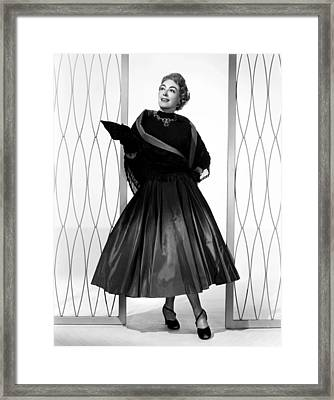 Torch Song, Joan Crawford, In A Gown Framed Print by Everett