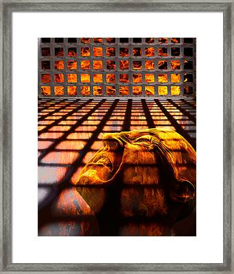 Tormented Soul Framed Print by Tom Mc Nemar