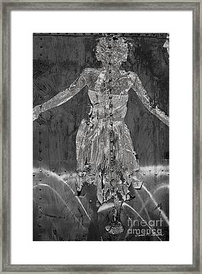 Torn Poster No. 1 Framed Print by Dave Gordon