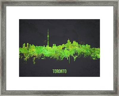 Toronto Canada Framed Print by Aged Pixel