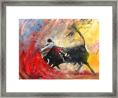 Toroscape 46 Framed Print by Miki De Goodaboom