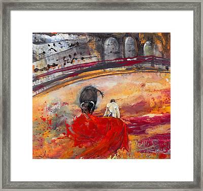 Toroscape 56 Framed Print by Miki De Goodaboom