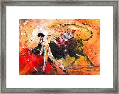 Toroscape 58 Framed Print by Miki De Goodaboom