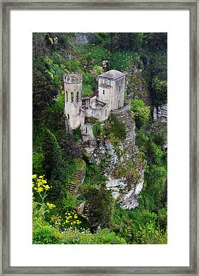 Torretta Pepoli Framed Print by RicardMN Photography