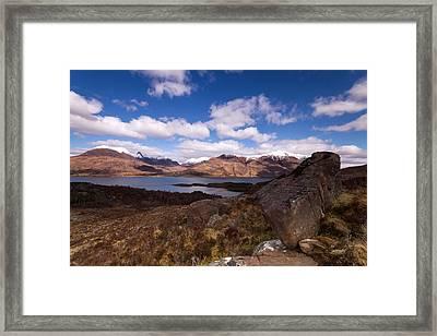 Torridon Framed Print by Karl Normington