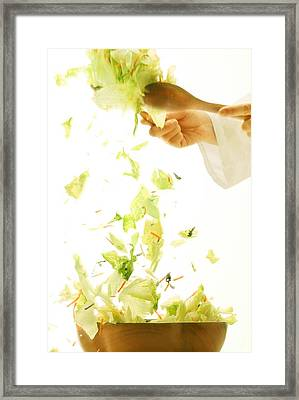 Tossed Salad Framed Print by Don Hammond