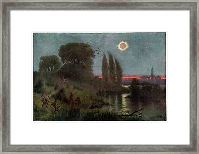 Total Solar Eclipse Framed Print by Cci Archives