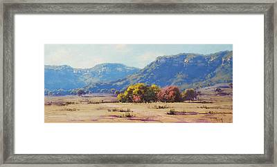 Touch Of Autumn  Framed Print by Graham Gercken