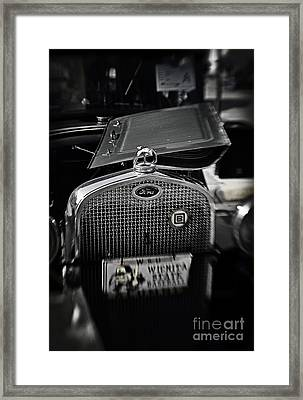 Touch Of Chrome Framed Print by Fred Lassmann