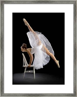 Touch Of Class Framed Print by Pauline Pentony Ba