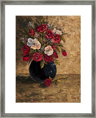 Touch Of Elegance Framed Print by Darice Machel McGuire