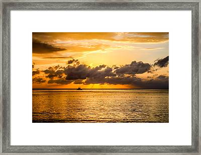 Touch Of God Framed Print by Todd Reese