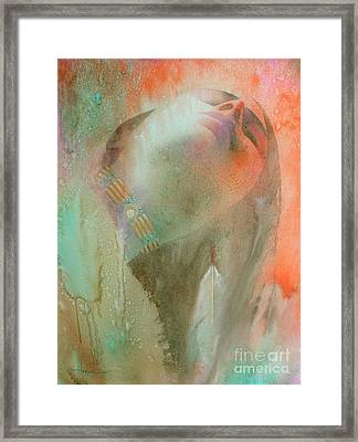 Touch Of The Rainbow Framed Print by Robert Hooper
