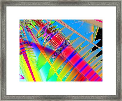 Touching Color Framed Print by Wendy J St Christopher