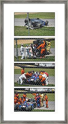 Tough Day For #26 Framed Print by James Mock